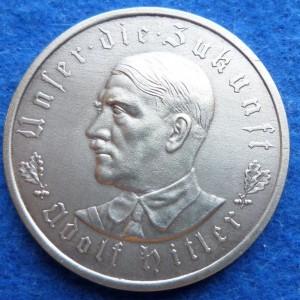 kopiya nastol.medal gitler 1933g.splav l0517