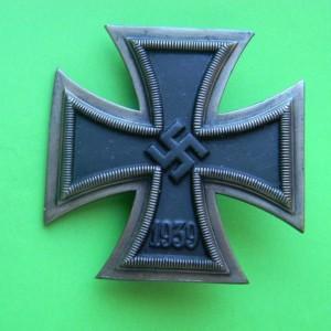 zheleznyj krest 1-go klassa obraztsa 1939g