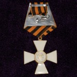 CROSS OF ST. GEORGE 1 DEGREE TO OFFICER 4