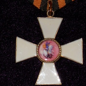 CROSS OF ST. GEORGE 3 DEGREE TO OFFICER 2