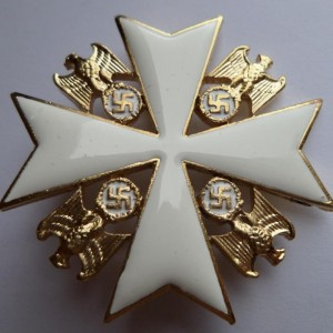 German award ORDER OF THE GERMAN EAGLE 4 class 1