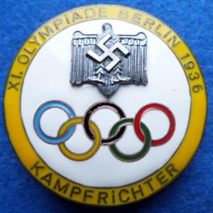 Germany sign the Olympic Games in 1936 111