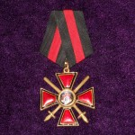 Imperial russian award ORDER OF ST. VLADIMIR  2 DEGREES with swords 1