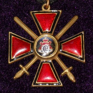 Imperial russian award ORDER OF ST. VLADIMIR  2 DEGREES with swords 2