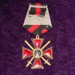 Imperial russian award ORDER OF ST. VLADIMIR  2 DEGREES with swords 4