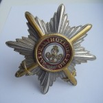 Imperial russian award STAR OF THE ALEXANDER NEVSKIY with swords 3