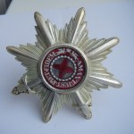Imperial russian award STAR OF THE ORDER OF ST. ANNA  with swords 1