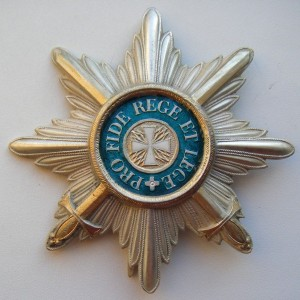 Imperial russian award STAR OF THE ORDER OF WHITE EAGLE 1