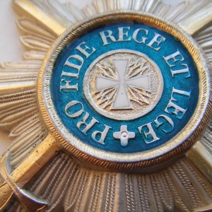 Imperial russian award STAR OF THE ORDER OF WHITE EAGLE 2