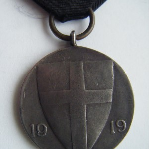 Imperial russian white army award IRON DIVISION 6