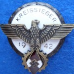 Sign of the winner in a national professional competition 1942 1