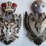 IMPERIAL RUSSIAN BADGE SIGN ORDER OF WHITE EAGLE 1