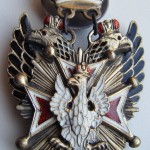 IMPERIAL RUSSIAN BADGE SIGN ORDER OF WHITE EAGLE 2