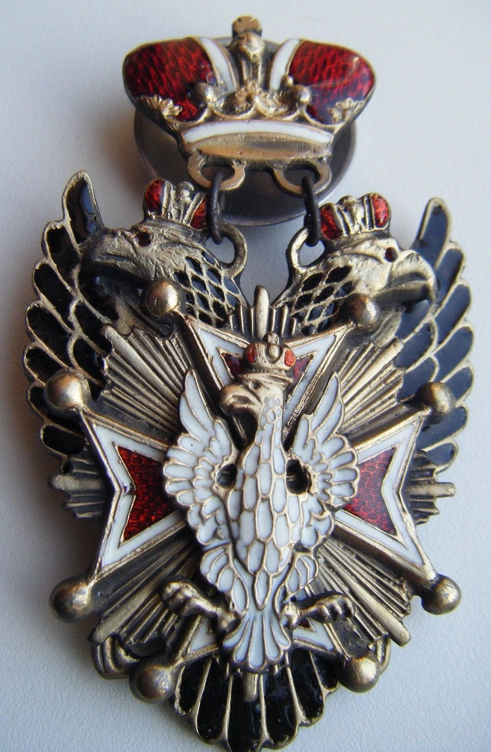 """Imperial Russian Award """"SIGN ORDER OF WHITE EAGLE"""""""