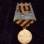 IMPERIAL RUSSIAN MEDAL  FOR BRAVERY 1 DEGREES  NIKOLAY II 4