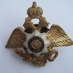 Imperial russian badge NICHOLAS CAVALRY SCHOOL 1