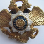 Imperial russian badge NICHOLAS CAVALRY SCHOOL 2