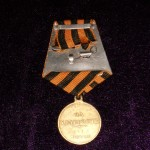 Imperial russian medal FOR BRAVERY 2 DEGREES  NIKOLAY II 4