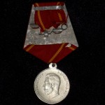Imperial russian medal FOR DILIGENTSERVICE NIKOLAY II 4