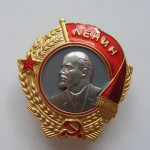 Soviet russian award ORDER OF LENIN 1