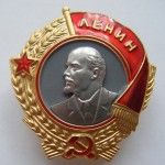 Soviet russian award ORDER OF LENIN 2