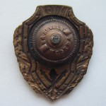 Soviet russian breastplat badge EXCELLENT FIREMAN COPY 2