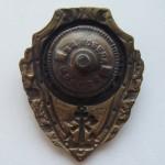 Soviet russian breastplate badge EXCELLENT PONTONEER 2