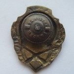 Soviet russian breastplate badge EXCELLENT SHOOTER 2