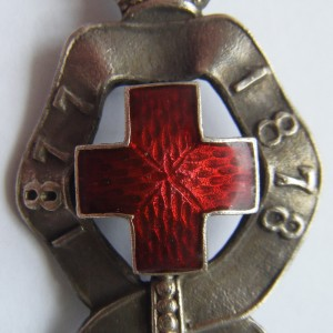 Imperial russian SIGN OF THE RED CROSS FOR RUSSIAN-TURKISH WAR 1877-1878 3