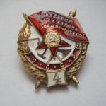 Soviet russian award ORDER OF THE FIGHTING RED BANNER-4 5