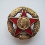 Soviet russian badge SIGN OF CHEKA. DZERZHINSKY.VCHK GPU 2