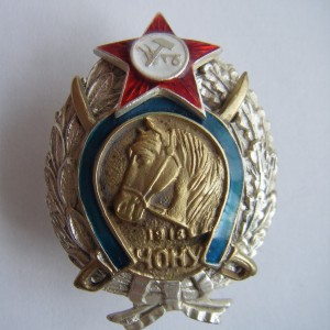 Soviet russian badge SIGN OF SPECIAL FORCES OF UKRAINE CHON 1918 3