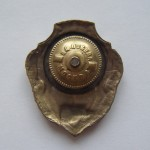 Soviet russian breastplate badge EXCELLENT COOK 2